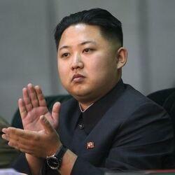 칭찬 박수  북한  김정은