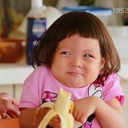 추성훈 추사랑 사랑이 슈퍼맨이 돌아왔다 귀여운 아기 바나나 사랑