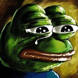 개구리 표정 분노 슬픔 눈물