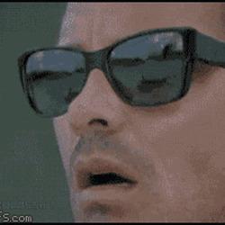 무한반복 선글라스 끝이없는 낚시 충격 놀라운 깜놀 깜짝 움짤