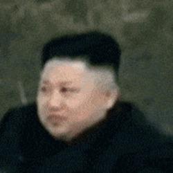 아놔씨 낚시 핑크 아저씨 김정은 북한 망원경 깜놀 실망