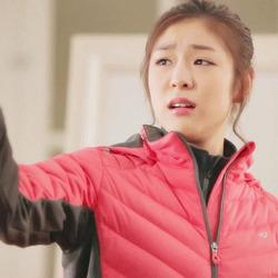 손가락질 김연아 언짢은 언짢다 표정 언짢연아 혐오 벌레를 봤을때