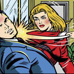 닥쳐 싸다구 따귀 뺨 때리는 여자 싸대기 귀싸대기