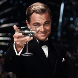 축배 잘했어 좋아 칭찬 레오나르도 디카프리오