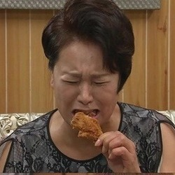 울면서 치킨 먹는 모습 시어머니 막장 드라마 먹방 오열 눈물