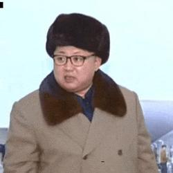 김정은 움짤 북한 확씨 확 씨 니하고 나하고 동급으로 취급하지 마라 혼이 비정상