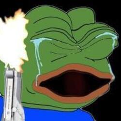 슬픈개구리 sadfrog 총 발사 눈물