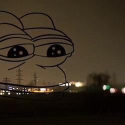 슬개짤 눈물 개구리 슬픈 개구리 짤방