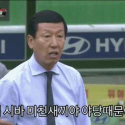 만능짤 최강희 아이 시바 미친 야당때문이다 이게 다 야당 때문이다 정치 새누리 자유당 바른정당 쓰레기 패러디