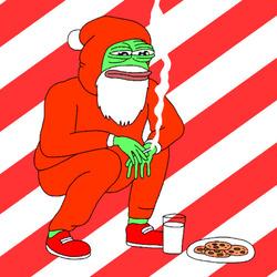 크리스마스 움짤 담배 외로움 산타 슬개짤 슬픈개구리 쿠키 우유 솔로 여자친구 없다